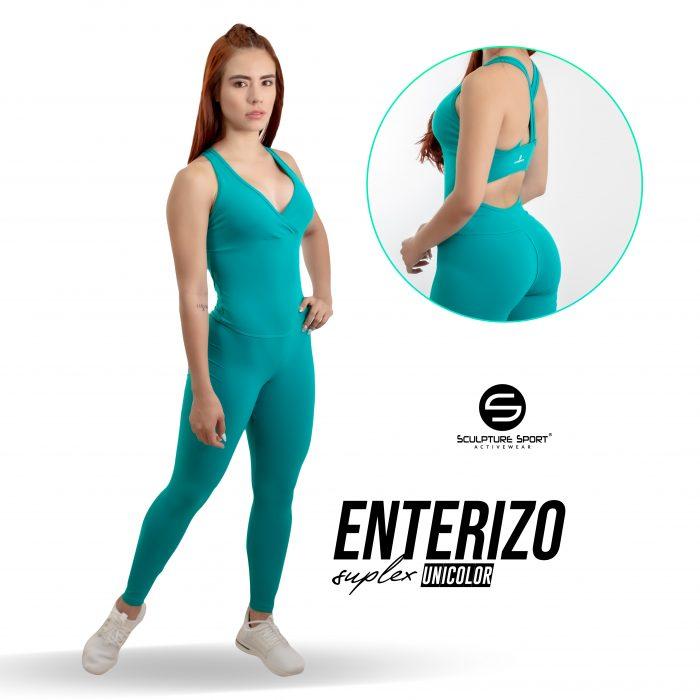 Enterizo LARGO NY Suplex Verde
