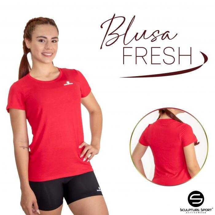 blusa FRESH Rojo